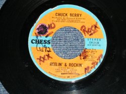 "画像1: CHUCK BERRY - REELIN' & ROCKIN' : LET'S BOOGIE ( Ex+ Looks:Ex-/Ex+  WOL)  / 1972 US AMERICA ORIGINAL Used 7"" inch SINGLE"