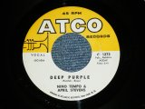 NINO TEMPO & APRIL STEVENS - DEEP PURPLE : I'VE BEEN CARRYIN A TORCH FOR YOU ...(Ex/Ex ) / 1963 US AMERICA ORIGINAL Used 7""