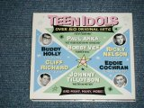 "v.a.Omnibus ( PAUL ANKA, BOBBY VEE, RICKY NELSON, EDDIE COCHRAN, BUDDY HOLLY, CLIFF RICHARD,JOHNNY TILLOTSON + More) -TEEN IDOLS (NEW) / 2011  EUROPE  "" BRAND NEW "" 2-CD"