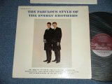 """THE EVERLY BROTHERS - The FABULOUS STYLE OF The EVERLY BROTHERS (Matrix #    A) L90P-2201 ▵2561   B) L90P-2202 ▵2561-x)(Ex++/Ex-  Looks:VG++)  / 1963 US ORIGINAL """"MAROON Label"""" MONO Used LP"""