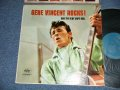 "GENE VINCENT AND THE BLUE CAPS  ROLL - GENE VINCENT ROCKS  (Ex++/Ex++ EDSP, Tape Seam) / 1958 US AMERICA ORIGINAL 1st Press""TURQUOISE Label"" MONO Used LP"