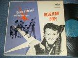 """GENE VINCENT -  BLUEJEAN BOP! ( Ex++/Ex++ Looks: Ex+++ ESDSAP, TapeSeam  ) / 1957 US AMERICA ORIGINAL 1st Press""""TURQUOISE Label""""  MONO Used LP"""