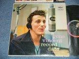 "GENE VINCENT  - AGENE VINCENT RECORD DATE  (Ex++/Ex+++ EDSP) / 1958 US AMERICA ORIGINAL 1st Press""BLACK with RAINBOW  Label"" MONO Used LP"
