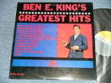 "BEN E. KING ( of THE DRIFTERS ) - GREATEST HITS  ( Ex+++/Ex+++ )/ 1964 US AMERICA ORIGINAL ""BROWN & GRAY Label"" MONO Used LP"