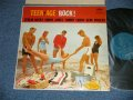 "V.A. Omnibus (FERLEN HUSKY, SONNY JAMES, TOMMY SANDS, GENE VINCENT)  -TEEN-AGE ROCK!  (Ex+/Ex+++ EDSP, WOBC) / 1958 US AMERICA ORIGINAL 1st Press""TURQUOISE Label"" MONO Used LP"