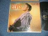 "ELVIS PRESLEY -  ELVIS (  Matrix #     A) G2 WP-7207-9S     B)G2 WP-7208-10S ) ( Ex/ExTape Seam ) / 1956 US AMERICA ORIGINAL 1st Press ""ADS on BACK COVER"" ""SILVER RCA VICTOR logo on Top & LONG PLAY at BOTTOM  Label"" ""BAND 1 Through 6 Track Listed Label""  MONO Used LP"