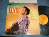 "ELVIS PRESLEY -  ELVIS (  Matrix #  A) M2 PV 4729-3S     B)M2 PV 4730-3S ) ( Ex++/MINT-) / 1969-71 Version  US AMERICA  REISSUE ""ORANGE Label"" STEREO Used LP"