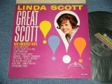 LINDA SCOTT - GREAT SCOTT! HER GREATEST HITS ( Ex+, Ex/Ex-) / 1962 US AMERICA ORIGINAL MONO Used LP