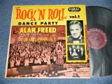 "ALAN FREED and His ROCK 'N' ROLL BAND featturing The MODERNAIRES - ROCK AND ROLL DANCE PARTY ( Ex/Ex+  EDSP, WOBC) / 1956 US AMERICA ORIGINAL 1st Press ""MAROON Label"" ""MONO"" Used LP"