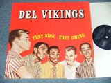 "DEL VIKINGS DEL-VIKINGS  -  THEY SING...THEY SWING  ( NEW )  / 1987 WEST-GERMANY GERMAN  ""BRAND NEW"" LP Found DEAD STOCK"