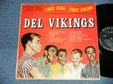DEL VIKINGS DEL-VIKINGS  -  THEY SING...THEY SWING  (Ex/Ex- Looks:Ex-Tape Seam)  / 1957 US AMERICA ORIGINAL MONO Used LP