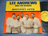 LEE ANDREWS AND THE HEARTS - BIGGEST HITS  (Ex+/Ex++ ) / 1964 US AMERICA ORIGINAL MONO Used LP