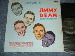 画像1: JIMMY DEAN - FAVORITES OF JIMMY DEAN  ( Ex/Ex+++ Looks:MINT-)  / 1961 US AMERICA ORIGINAL MONO  Used LP