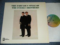 画像1: The EVERLY BROTHERS -  THE FABULOUS STYLE OF The EVERLY BROTHERS (SEALED) / 1985 US AMERICA REISSUE Used LP