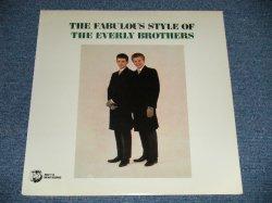"""画像1: The EVERLY BROTHERS -  THE FABULOUS STYLE OF The EVERLY BROTHERS (SEALED) / 1985 US AMERICA REISSUE """"BRAND NEW SEALED"""" LP"""