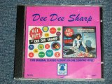 DEE DEE SHARP - Two Original Classic Album on One CD : ALL THE HITS BY ( Ex+++/MINT )  / 1988 ITALIA ORIGINAL Used  CD -R