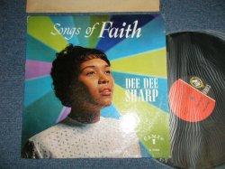 画像1: DEE DEE SHARP - SONGS OF FAITH (Gospel Album) (Ex, Ex++/Ex+++ STPOBC & L) / 1962 US AMERICA ORIGINAL MONO Used LP