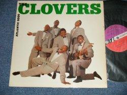 """画像1: THE CLOVERS - THE CLOVERS   (Ex++/Ex++  EDSP)  / 1961-1962 Version US AMERICA """"ORANGE & PURPLE with WHITE FAN Label"""" MONO Used LP"""