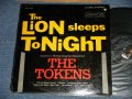 THE TOKENS - THE LION SLEEPS TONIGHT (Ex/Ex+ Looks:VG+++  Tape Seam TEAROFC ) / 1961 US AMERICA ORIGINAL STEREO Used LP