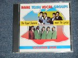 "The ROYAL JESTERS meets The LYRICS - RARE TEXAS VOCAL GROUPS Volume ONE (NEW) / 1998 FRANCE ORIGINAL  "" BRAND NEW "" CD"