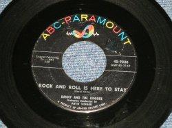 """画像1: DANNY and The JUNIORS - ROCK AND ROLL IS HERE TO STAY : SCHOOL BOY ROMANCE   (Ex+/Ex+ )   / 19578 US AMERICA ORIGINAL Used 7"""" Single"""