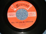 "THE SHIRELLES - WILL YOU LOVE ME TOMORROW (Revised Title) : BOYS (RINGO STARR Sings)  ( Ex+/Ex+) / 1960 US AMERICA  ORIGINAL 1st Press Label  Used 7"" SINGLE"