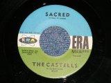 """The CASTELLS - SACRED / I GET DREAMY   ( Ex+/Ex+ ) / 1961 US AMERICA  ORIGINAL Used 7"""" SINGLE"""