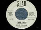 "BRUCE CHANNEL - STAND TOUGH : COURT OF LOVE (Ex++/Ex++ WOL)   / 1964 US AMERICA ORIGINAL ""WHITE LABEL PROMO"" Used 7"" SINGLE"