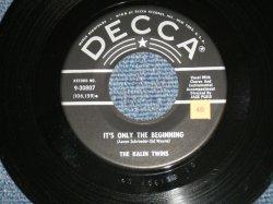 """画像1: KALIN TWINS - IT'S ONLY THE BEGINNING : AH! MY GOODNESS ( Ex+++/Ex+++ STOL) / 1959 US AMERICA  ORIGINAL Used 7"""" SINGLE"""