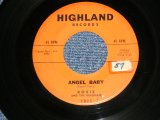 "ROSIE AND The ORIGINALS - ANGEL BABY / GIVE ME LOVE (Ex+/Ex+ STOL)   / 1960 US AMERICA ORIGINAL Used 7"" Single"