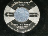 "The FALCONS - YOU'RE MINE : COUNTRY SHACK  ( VG++/VG++ )   / 1959 US AMERICA ORIGINAL   Used 7""45rpm Single"