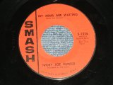 "IVORY JOE HUNTER - MY ARMS ARE WAITING : CONGRATULATIONS   (Ex+++/Ex+++ ) / 1963 US AMERICA ORIGINAL Used 7"" Single"