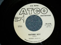 "画像1: BOBBY DARIN - NATURE BOY : LOOK FOR MY TRUE LOVE  ( Ex+++/Ex+++) / 1964 US AMERICA ORIGINAL ""WHITE LABEL PROMO""  Used  7"" Single"