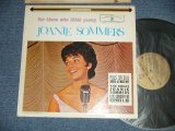 "JOANIE SOMMERS - FOR THOSE WHO THINK YOUNG ( EX+/Ex++Tape Seam,STPOBC ) / 1962 US AMERICA  ORIGINAL  1st Press ""GOLD LABEL"" STEREO Used  LP"