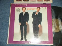"画像1: The EVERLY BROTHERS - IT'S EVERLY TIME! (Ex++/Ex++ Looks:Ex+++)  /1960 US AMERICA ORIGINAL 1st Press ""GOLD Label"" STEREO Used LP"