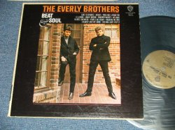 "画像1: The EVERLY BROTHERS - BEAT & SOUL! (Ex+++, Ex+/MINT- EDSP )  /1965 US AMERICA ORIGINAL 1st Press ""GOLD Label"" mono Used LP"