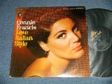 CONNIE FRANCIS -  LOVE ITALIAN STYLE (Ex+/Ex+++)   / 1967 US AMERICA ORIGINAL STEREO Used LP