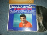 "FRANKIE AVALON - .15 GREATEST HITS (Ex/MINT- EDSP) / 1964 US AMERICA ORIGINAL ""RECORD CLUB Release""   MONO Used  LP"