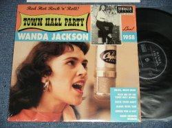 """画像1: WANDA JACKSON - TOWN HALL PARTY (MINT/MINT)  / 2008 US AMERICA ORIGINAL Used 10"""" EP / LP"""