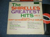 "THE SHIRELLES -  GTREATEST HITS VOL.2 (Ex+/Ex+++ EDSP) / 1967 US AMERICA ORIGINAL  ""1st PRESS Label""  MONO  Used LP"