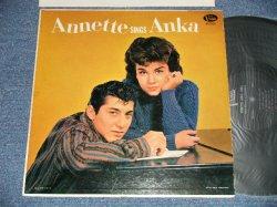 画像1: ANNETTE - ANNETTE SINGS ANKA (Ex++/Ex++ Looks:Ex, Ex+++  EDSP, Tape seam) / 1960 US AMERICA ORIGINAL MONO Used LP