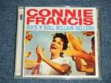CONNIE FRANCIS - ROCK N' ROLL MILLION SELLERS ( STRAIGHT REISSUE of ORIGINAL ALBUM )  (MINT/MINT) / 2010 NETHERLAND  Used  CD