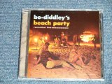 "BO DIDDLEY - BO-DIDDLEY'S BEACH PARTY ( Live : MYRTLE BEACH ,SOUTH CAROLINA, JULY 5 & 6 , 1983 )  / 2011 US ORIGINAL ""Brand New Sealed"" CD"