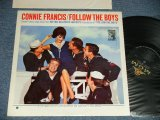 CONNIE FRANCIS - FOLLOW THE BOYS (Ex++/Ex++ Looks:Ex+++ BB)   / 1963 US AMERICA ORIGINAL MONO Used LP
