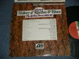 "V.A. VARIOUS Omnibus - HISTORY of RHYTHM & BLUES Volume 2: THE GOLDEN YEARS 1953-1955(MINT/MINT Cut out) /  1969 Version US AMERICA REISSUE ""RED & GREEN Label"" Used LP"