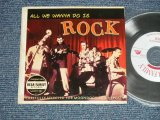 "V.A.Various OMNIBUS - All We Wanna Do Is Rock  (MINT-/MINT) / 2010 GERMAN  ORIGINAL ""Mini-LP Paper Sleeve"" Used  CD"