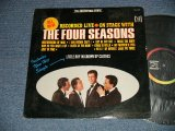 THE 4 FOUR SEASONS - ON STAGE WITH THE 4 FOUR SEASONS ; RECORDED LIVE (Ex+/Ex++ EDSP)   / 1965 US AMERICA ORIGINAL STEREO used LP