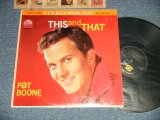 PAT BOONE - THIS AND THAT (Ex+/Ex+++ Tapeseam EDSP) /1960 US AMERICA  ORIGINAL  STEREO Used LP