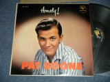PAT BOONE - HOWDY! (Ex++/MINT- EDSP) /1958 US AMERICA 2nd PRESS  MONO Used LP