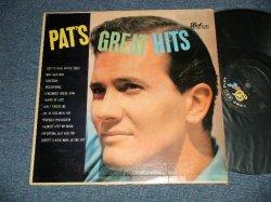 画像1: PAT BOONE - PAT'S GREATEST HITS (Ex++. Ex-/Ex+++  EDSP) /1957 US AMERICA  ORIGINAL  MONO Used LP